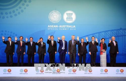 东盟—澳大利亚特别峰会: 越南政府总理阮春福高度评价双方良好关系 hinh anh 1
