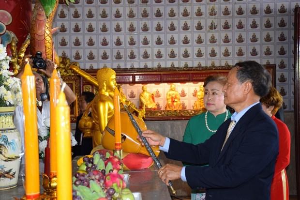旅居泰国越南人为英烈们举行追思超度法会 hinh anh 2