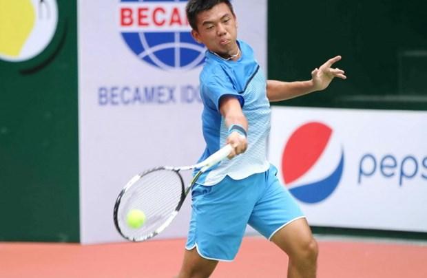 李黄南获得2018年印度男网F3未来赛亚军 hinh anh 1