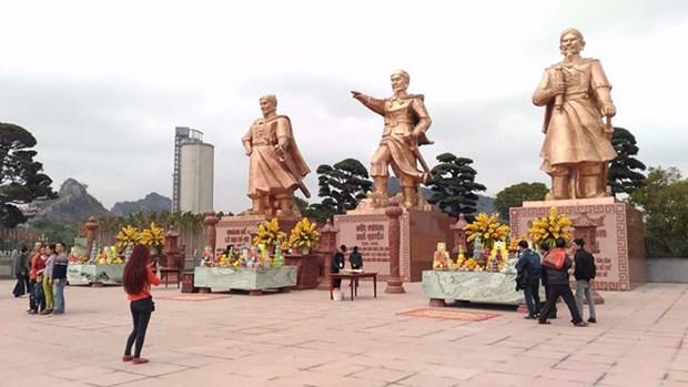 参观海防市白藤江遗迹区 hinh anh 1