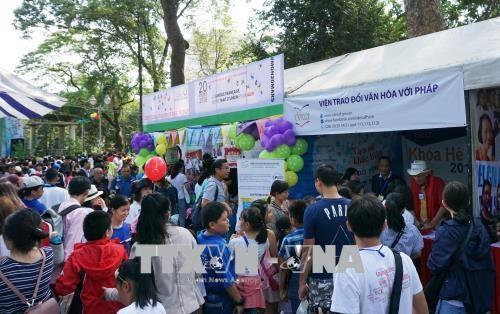 在胡志明市举行的法语日活动吸引5000余名学生参加 hinh anh 1