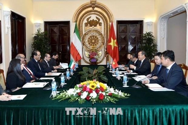 越南与科威特举行第三次政治磋商 hinh anh 1