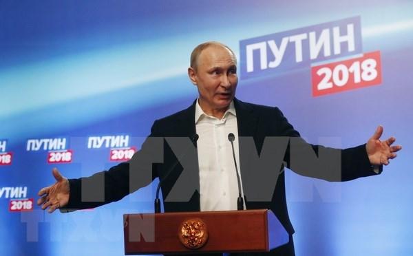 越共中央总书记阮富仲致电祝贺普京再次当选俄罗斯总统 hinh anh 1