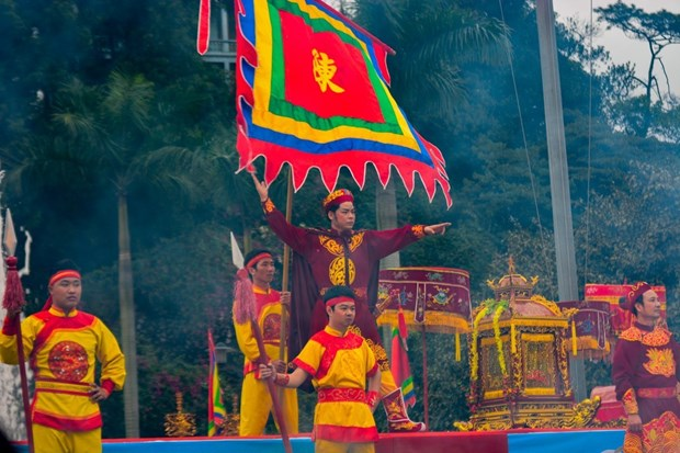 翁门祠庙会被公认为国家级特殊历史遗迹 hinh anh 1
