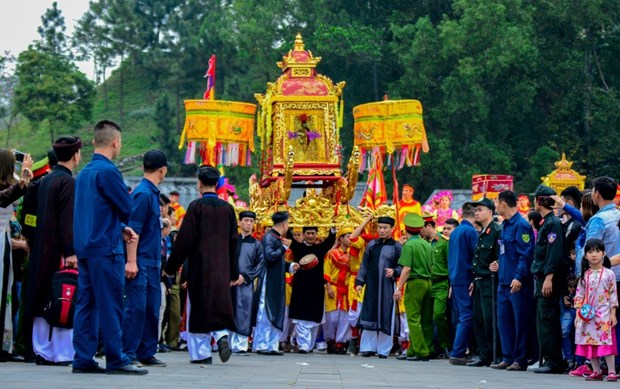 翁门祠庙会被公认为国家级特殊历史遗迹 hinh anh 2