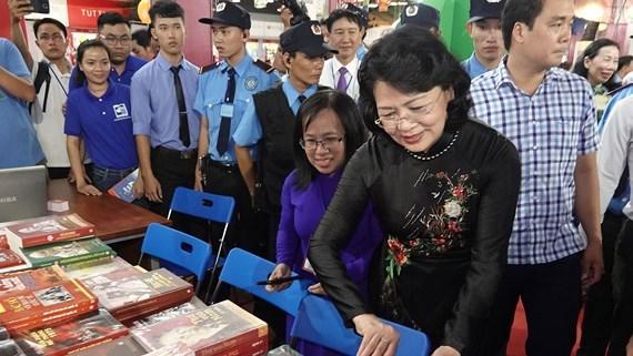 2018年第十届胡志明市图书节拉开序幕 hinh anh 1
