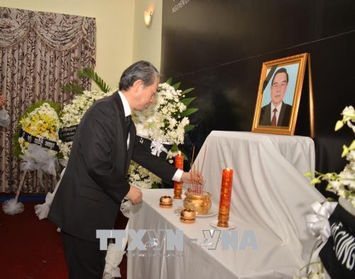 越南前总理潘文凯吊唁仪式在世界多国举行 hinh anh 1