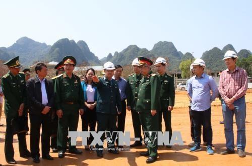 切实为2018年第五届越中边境国防友好交流活动做好准备 hinh anh 1