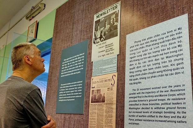 """""""反对美国对越发起非正义战争的浪潮""""展览会在胡志明市开展 hinh anh 2"""