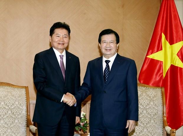 越南政府副总理郑廷勇:鼓励越韩深化农业合作 hinh anh 1