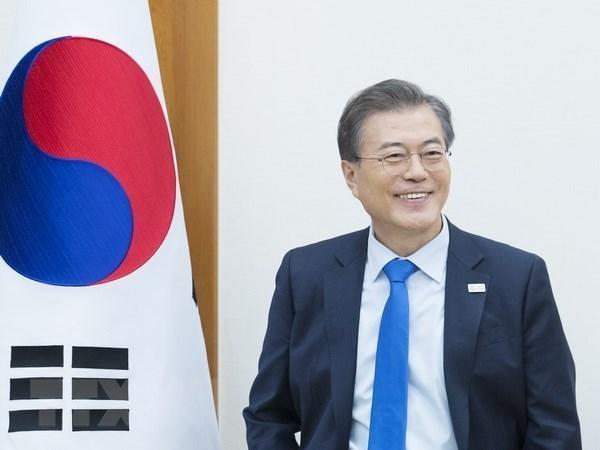 韩国媒体:韩国总统文在寅致力加强与越南的关系 hinh anh 1