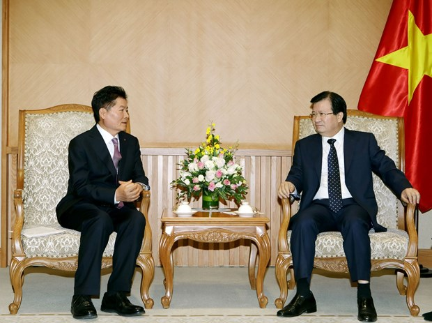 越南政府副总理郑廷勇:鼓励越韩深化农业合作 hinh anh 2