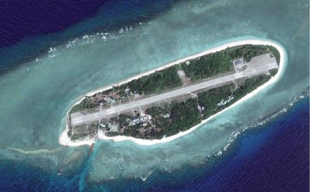 越南坚决反对中国台湾在巴平岛上进行实弹演习 hinh anh 1