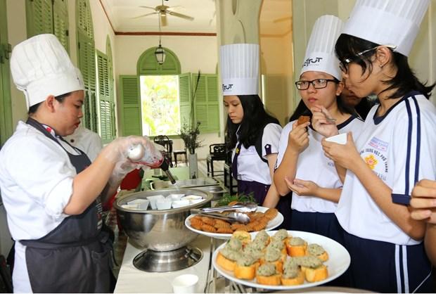 """""""好味法兰西""""国际美食活动在胡志明市举行 hinh anh 1"""