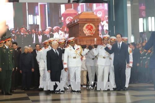 原政府总理潘文凯追悼会和安葬仪式隆重举行 hinh anh 2