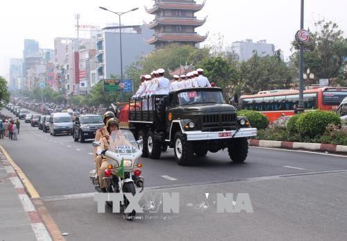 原政府总理潘文凯追悼会和安葬仪式隆重举行 hinh anh 3