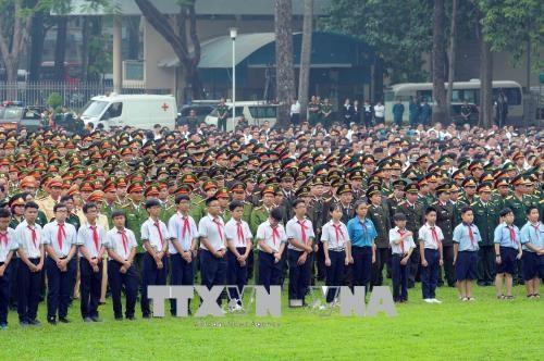 原政府总理潘文凯追悼会和安葬仪式隆重举行 hinh anh 4