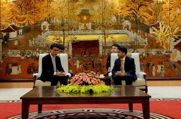 河内市与中国香港促进经济交流与投资合作 hinh anh 1