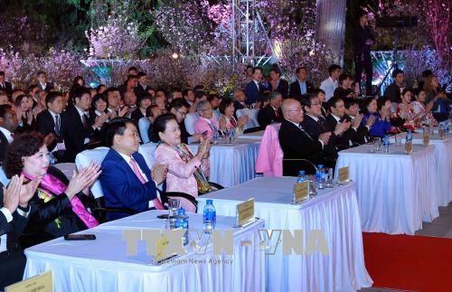 越南国会主席阮氏金银出席2018年日本文化交流节 hinh anh 1