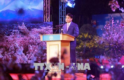 越南国会主席阮氏金银出席2018年日本文化交流节 hinh anh 2