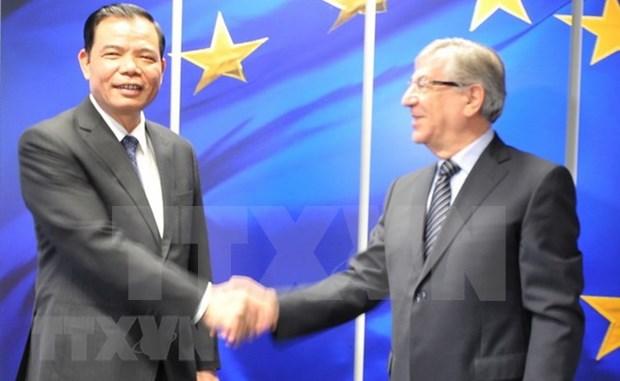 """越南加强与欧盟沟通 促进欧盟取消对越南渔业出示的""""黄牌""""警告 hinh anh 2"""