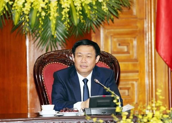 政府副总理王廷惠:2018年增长6.7%是合理的目标 hinh anh 1