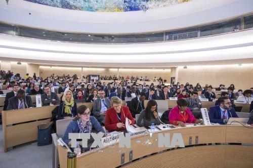 联合国人权理事会第37次会议在瑞士日内瓦落下帷幕 hinh anh 1