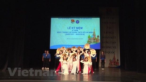 旅居海外越南青年团结创新 心系祖国 hinh anh 2