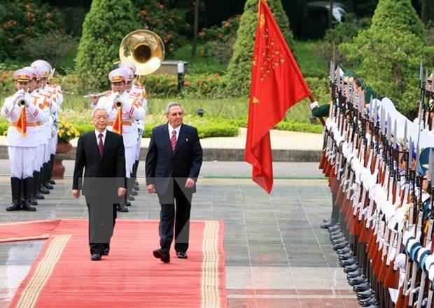 越古两国人民都是两国特殊关系发展的贡献者 hinh anh 1