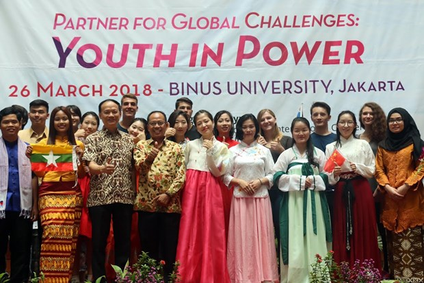 年轻人在ASEM发展中起到重要作用 hinh anh 1