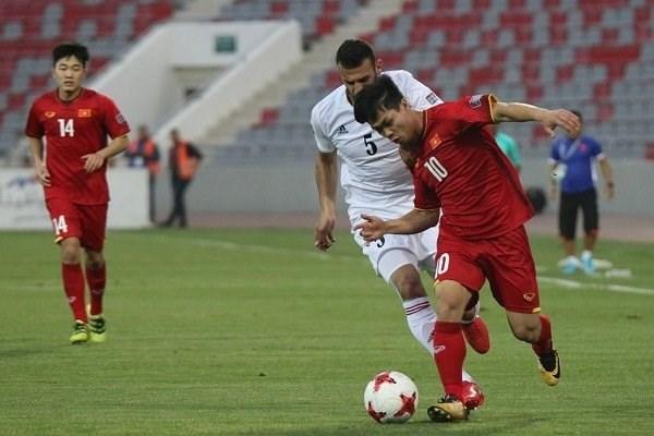 2019亚洲杯预选赛:越南队客场战平约旦队 hinh anh 1