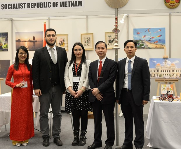 在安卡拉旅游展览会推广越南旅游文化和美食 hinh anh 1