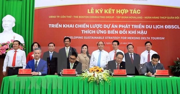 政府总理阮春福:支持弘扬九龙江三角洲特色的旅游发展模式 hinh anh 1