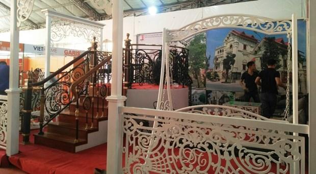 2018越南河内市国际建材展吸引500家企业参展 hinh anh 2