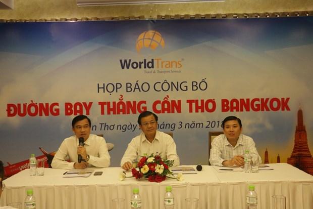 越南芹苴市至泰国首都曼谷直达航线将于今年6月开通 hinh anh 1