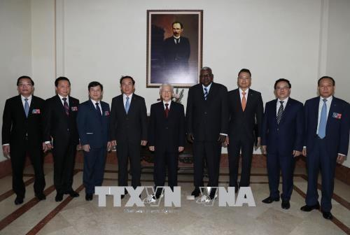 阮富仲总书记会见古巴议会主席 hinh anh 2
