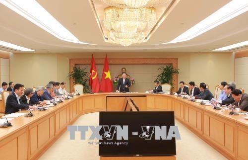 王廷惠:加强越南银行系统对世界货币政策变化的抵御能力 hinh anh 1