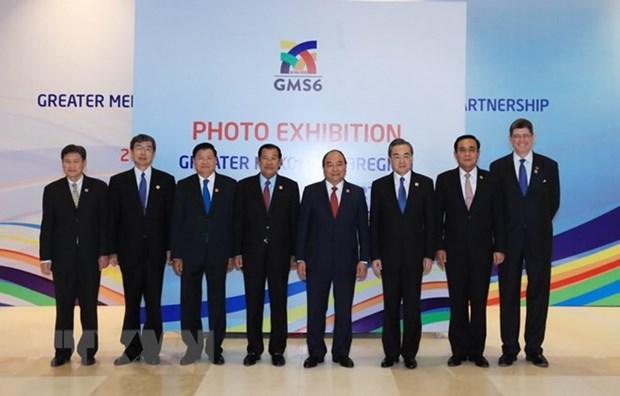 大湄公河次区域合作25周年图片展开展 hinh anh 1