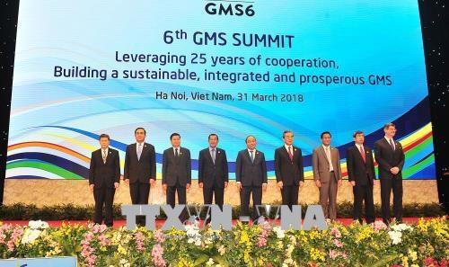 大湄公河次区域合作第六次领导人会议全体会议在河内召开 hinh anh 1