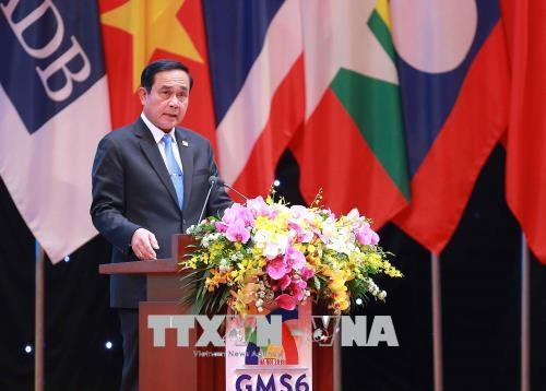 大湄公河次区域合作第六次领导人会议全体会议在河内召开 hinh anh 6