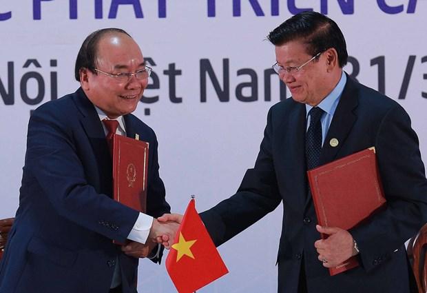 柬老越发展三角区第十届峰会圆满结束 发表联合宣言 hinh anh 1