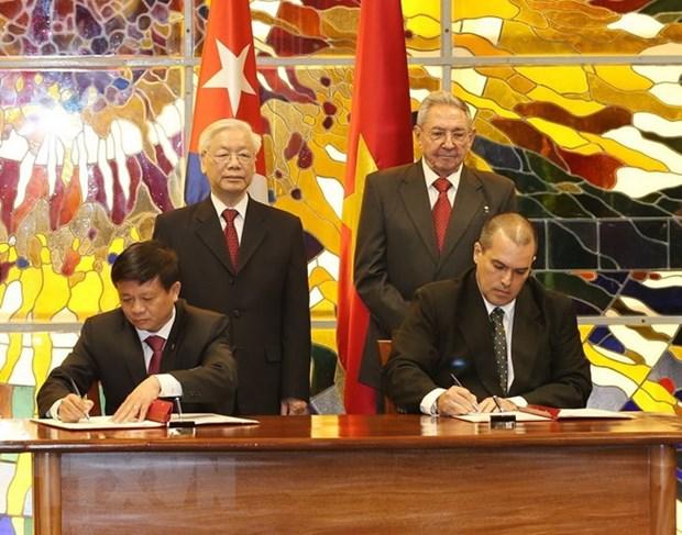 越通社与古巴伙伴加强合作关系 hinh anh 1