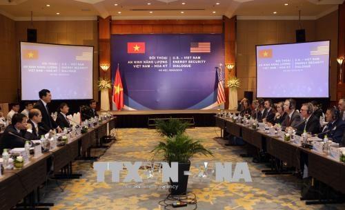 越南与美国首次举行能源安全对话 hinh anh 1