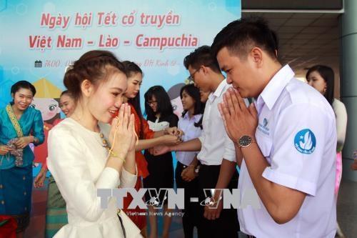 柬老越传统节日活动热闹亮相胡志明市 hinh anh 2