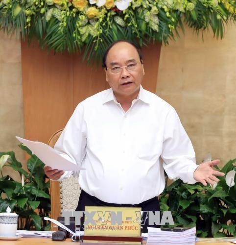 政府总理阮春福:力争实现2018年经济增长达6.7% hinh anh 2