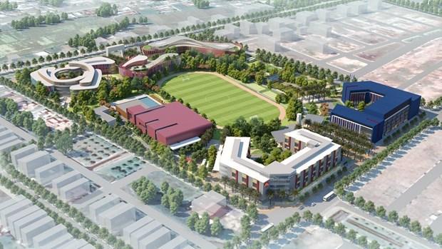 越南动工兴建首座国际教育城 hinh anh 2