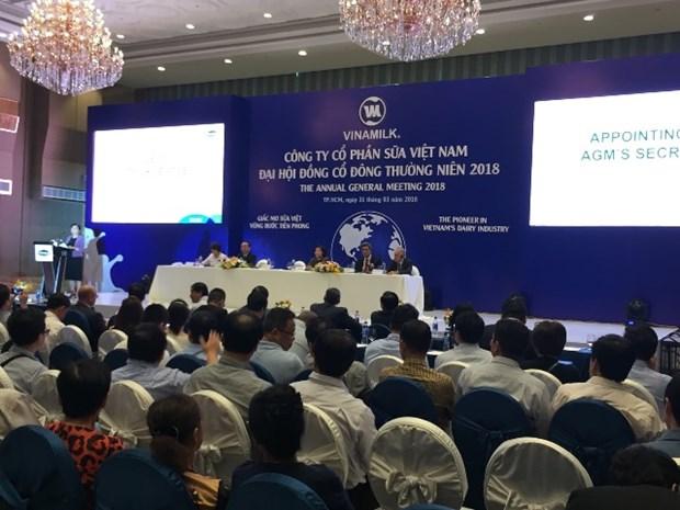 越南乳业股份公司力争实现2018年营业额达55.5万亿越盾的目标 hinh anh 1