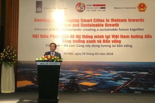 越南与荷兰合作推进智慧城市发展 hinh anh 1