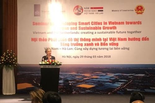 越南与荷兰合作推进智慧城市发展 hinh anh 2