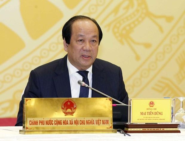 越南政府3月例行会议记者会:聚焦社会舆论关注的热点焦点问题 hinh anh 2